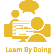Training Icon Learn by Doing